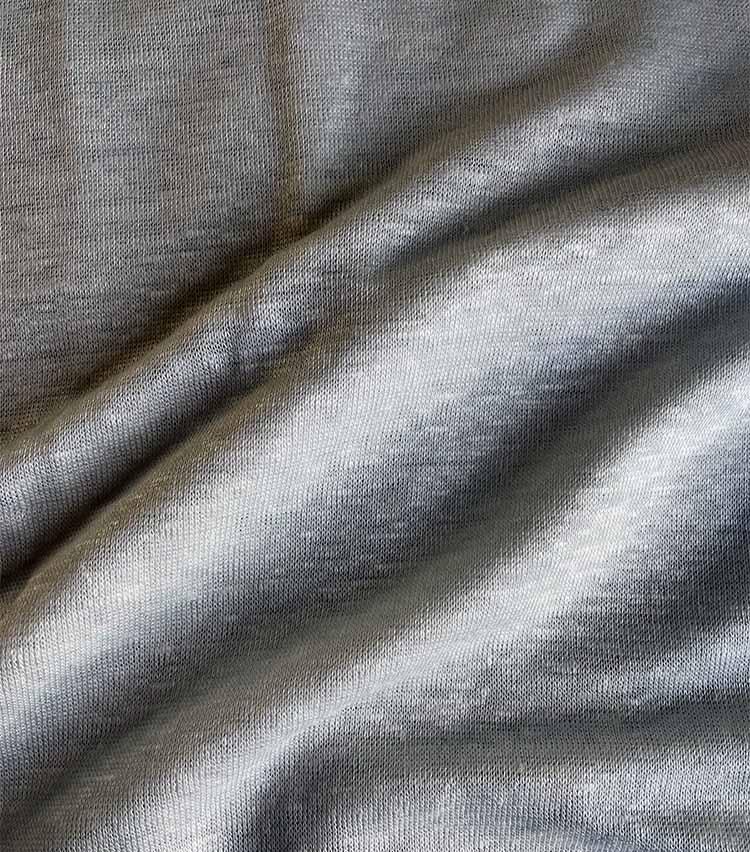 RIVORA(リヴォラ)Vintage Linen Layered T-Shirts