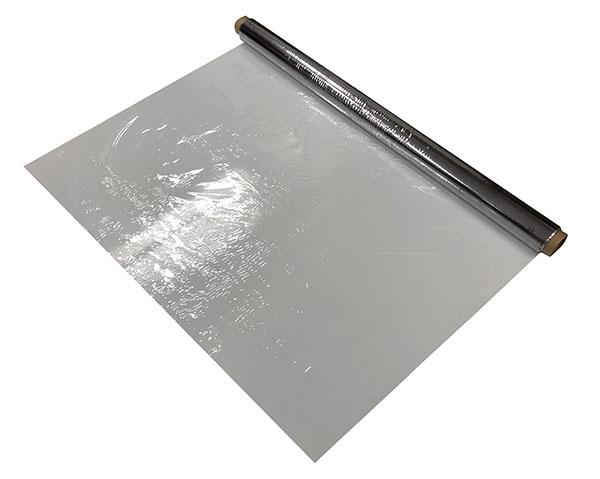 飛散防止 MF透明塩ビシート 0.1mm厚×1000mm×50m(5本)