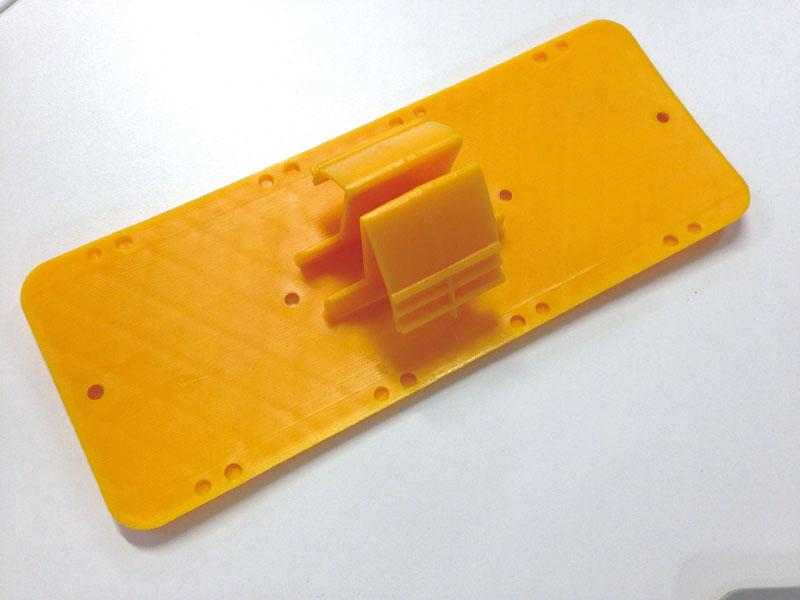 側溝ダートカバー(天板190mmX75mmX高さ45mmX対応幅30〜50mm 【黄色・グレー】  50枚)