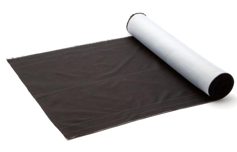グラスガード (品番KWS-200-50 幅2000mmX長さ50m 色黒X白  1本)