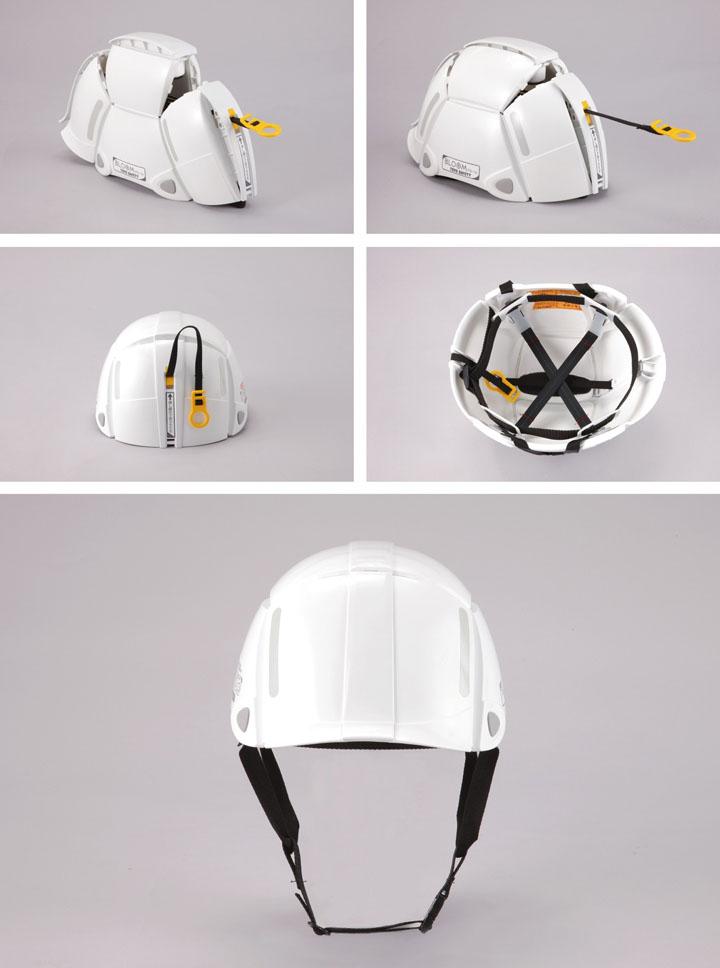 防災用折りたたみヘルメット ブルーム[BLOOM No.100]