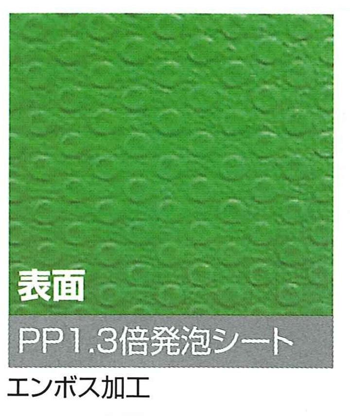 【法人限定商品】プラベニソフト 両面NS ロールタイプ (1本) 1.6mm厚×1000mm×10m