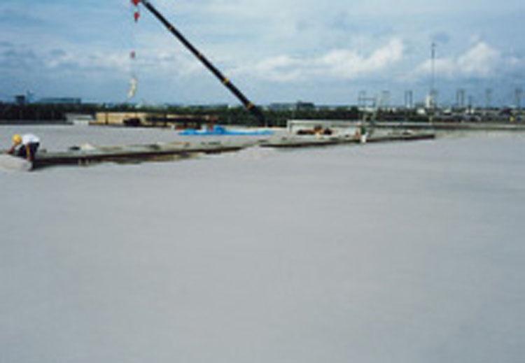 コンクリート養生マット50 厚み3mmX幅1000mmX長さ50m (5本セット)