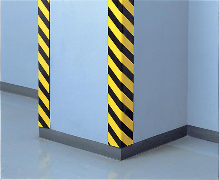 トラクッション(無反射タイプ)(幅100mmX長さ1000mmX色黄/黒(縞幅65mm)  12枚)