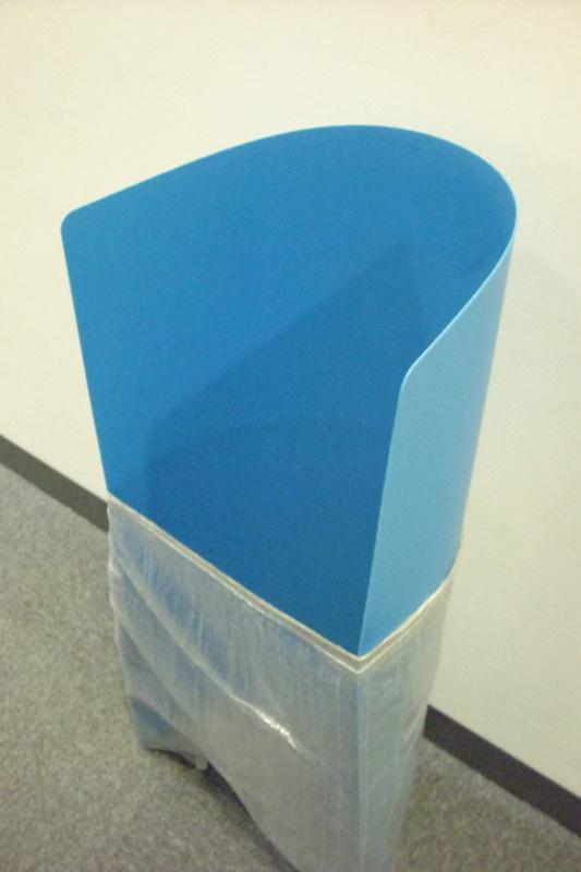 ゴミ袋自立スタンド ポイ・すて立っちゃん (厚み1.5mmX幅910長さ910mm  10枚セット)