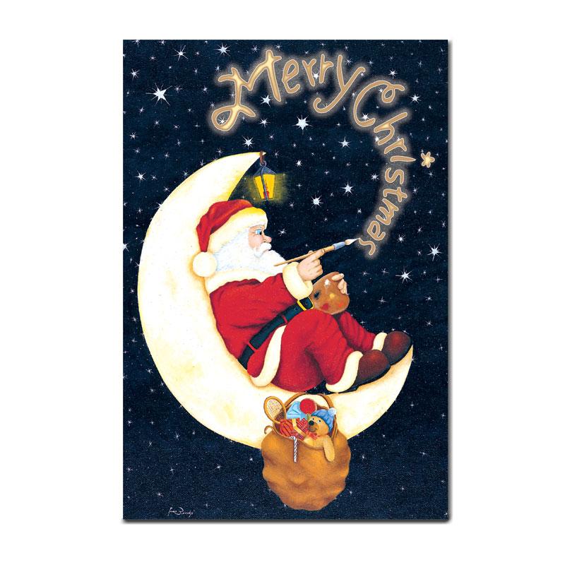 クリスマスの絵葉書 【サンタクロース】 �98