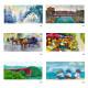風景カレンダー 【世界の風景画で構成された】 �395