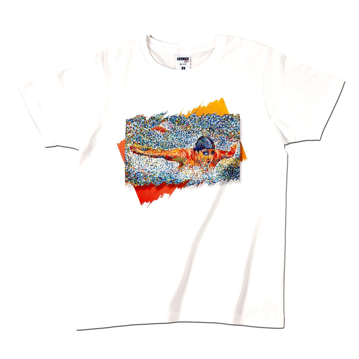 アートTシャツ ホワイト 【Victory!】