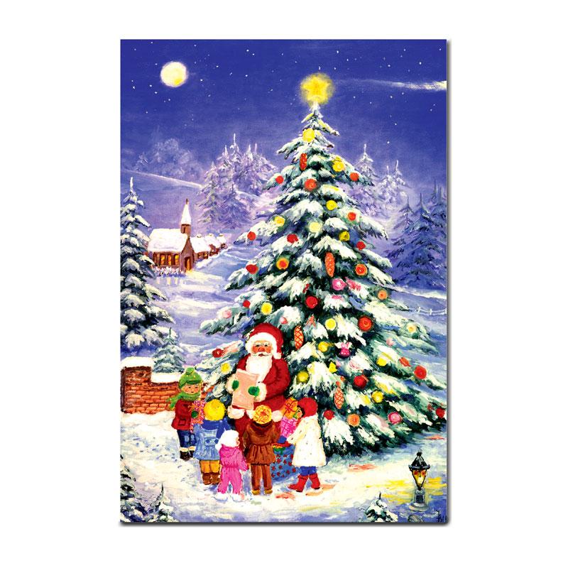 クリスマスの絵葉書 【聖夜】 �92