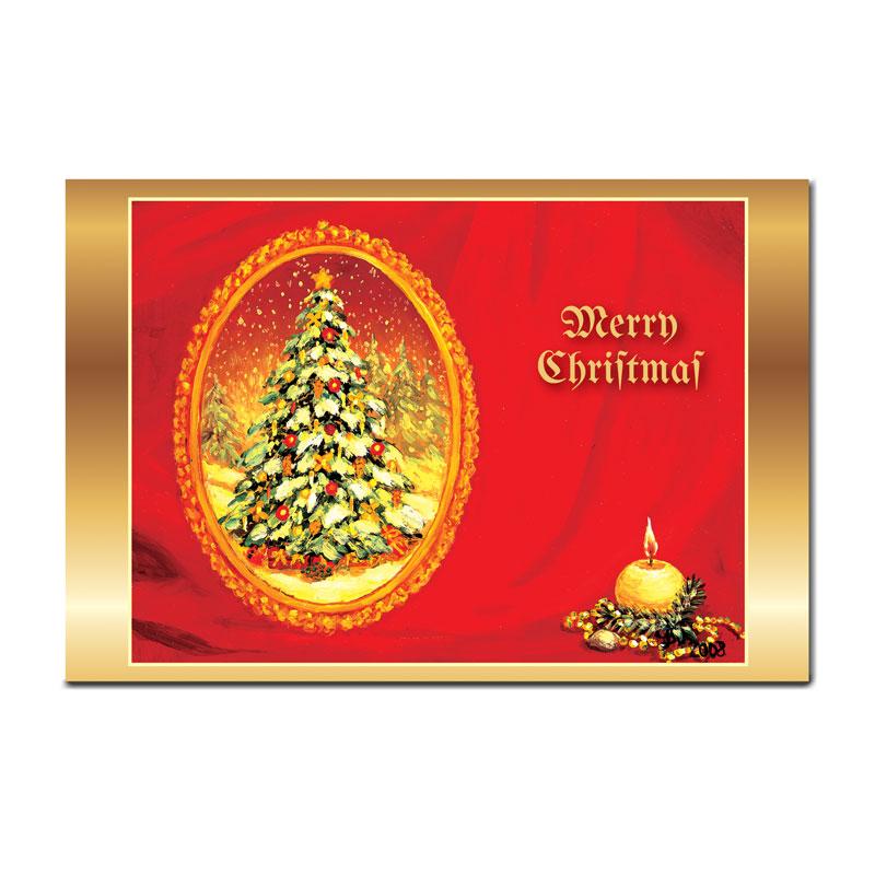 クリスマスの絵葉書 【静寂】 �94