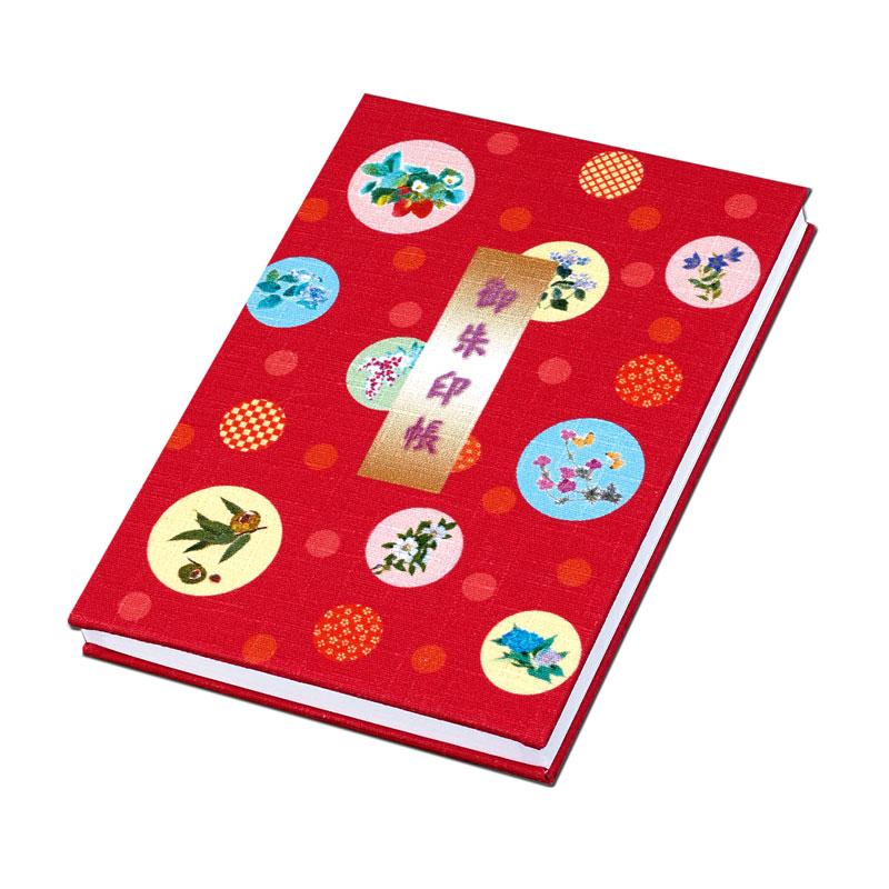 朱印帳 【繊細なタッチの季節の和花】 �854