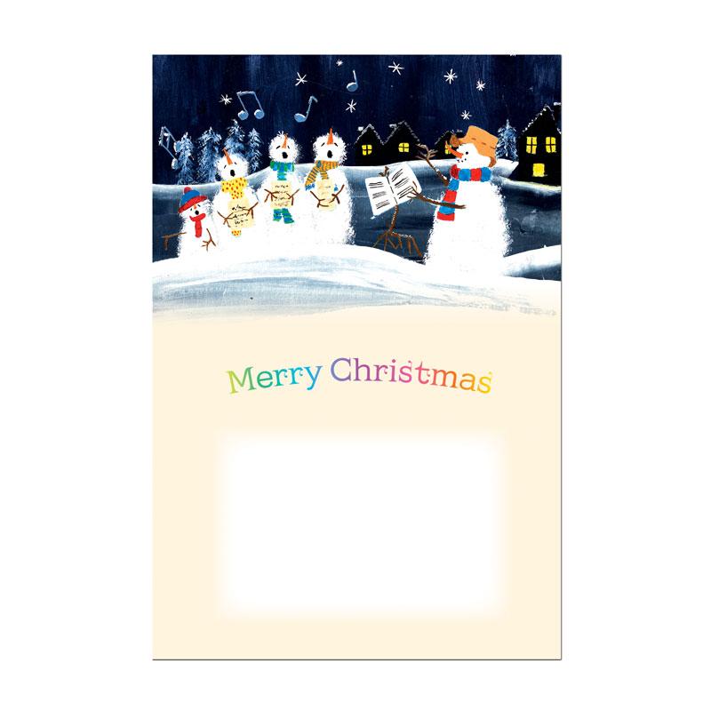 クリスマスの絵葉書 【聖夜】 �96