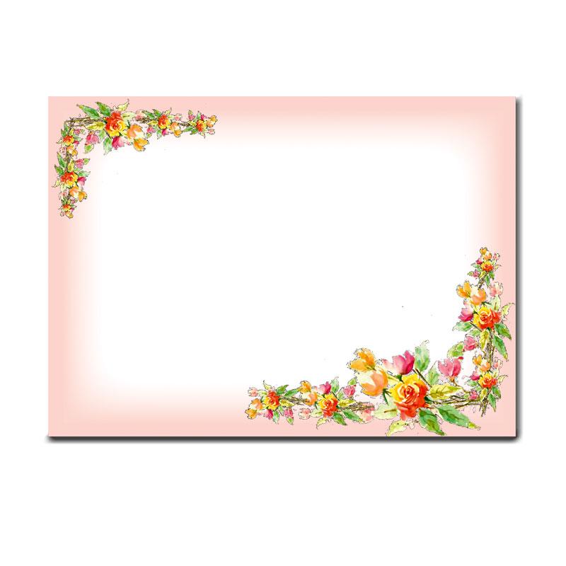 メモスティッカー 【エレガントな花柄】 �774 【人気�1】