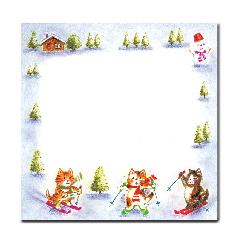 ボックスメモ 【動物たちの秋冬の遊び】 �141
