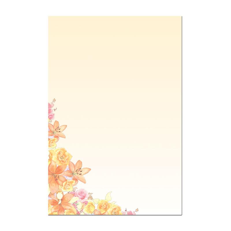エルスティッカー 【アート感あふれる花の絵】 �368
