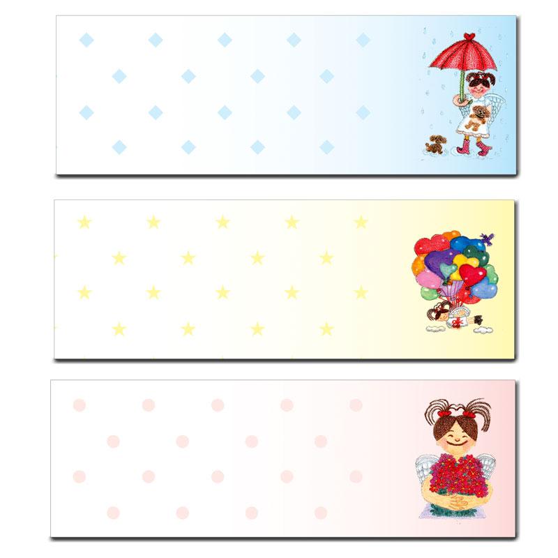 マークスティッカー 【女の子のハートシリーズ】 �585