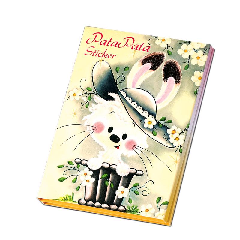 パタパタスティッカー 【レトロメルヘンなウサギさん】 �528