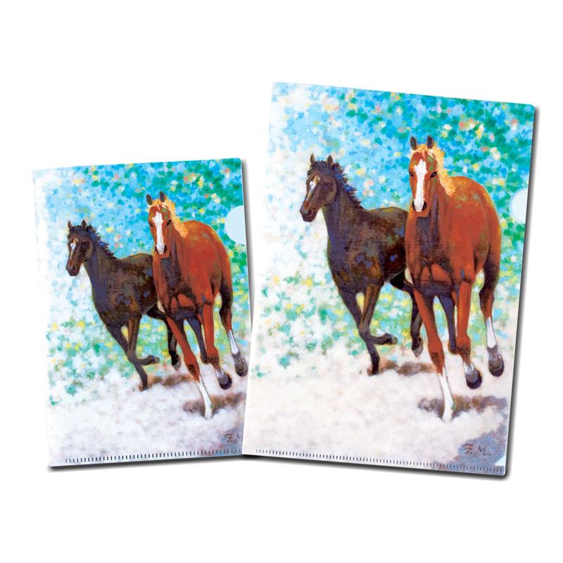 クリアファイル 【Going on 疾走する馬】 �623