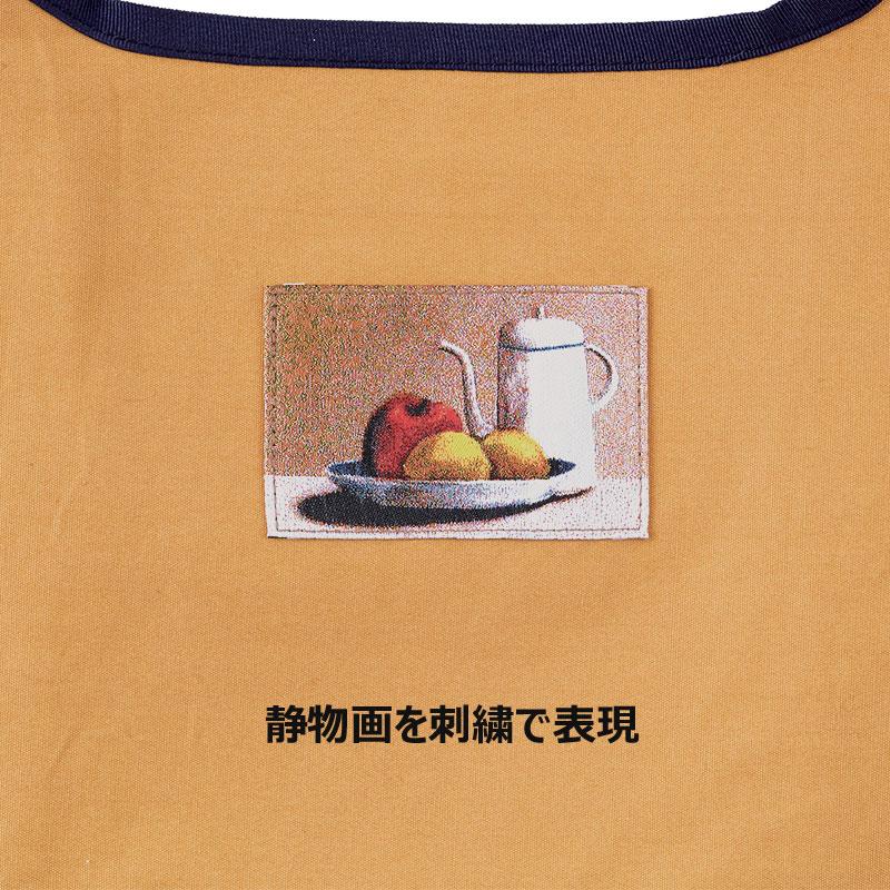 帆布のエコバッグ 【落ち着いた静物画】 �387 【タケヤリとのコラボグッズ】