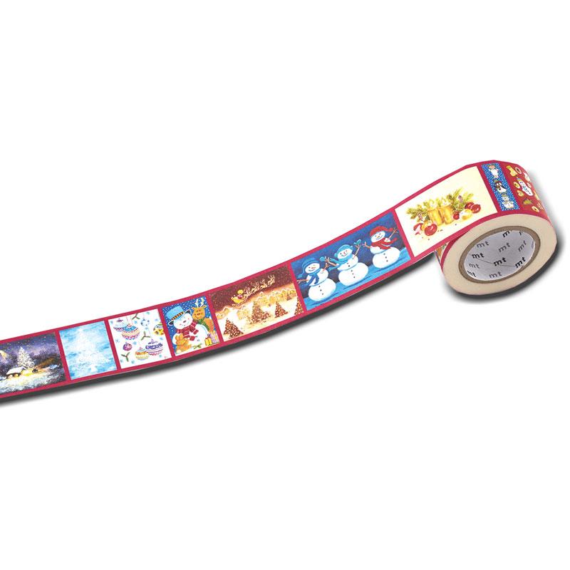 マスキングテープ30ミリ幅 【クリスマスモチーフ】 �157