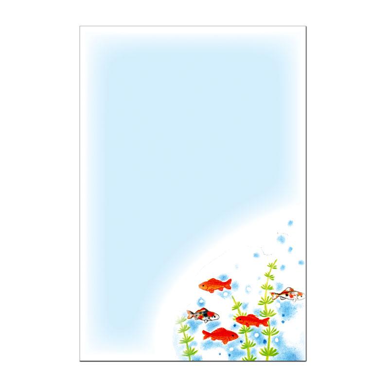 絵葉書 【金魚】 �52