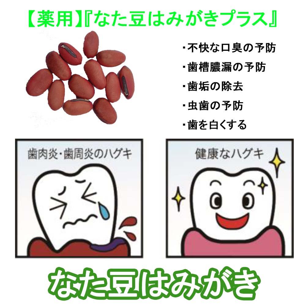 【薬用】『なた豆はみがきプラス』 内容量120g