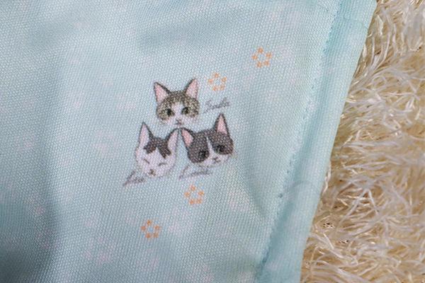さら・れあ・るいの3匹の子猫 オリジナルマスク