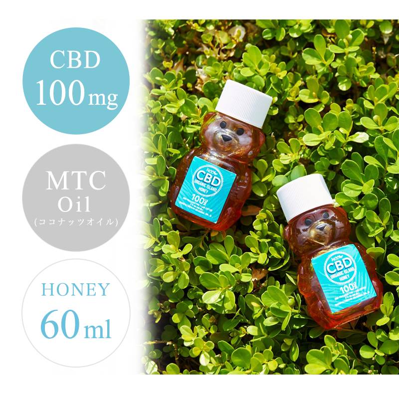 Hawaii Cannabis Care CBD Honey 蜂蜜 100� 60ml