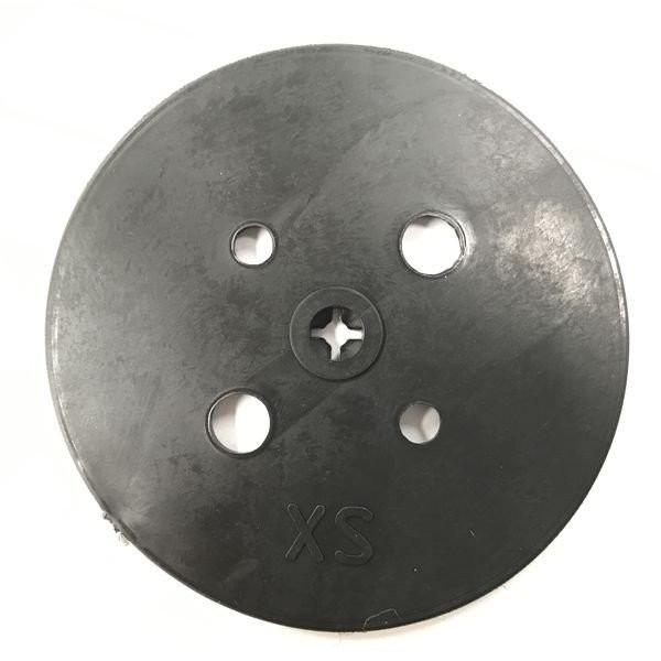 防草シート 人工芝 押さえ用 黒丸釘セット 黒丸板50枚と15cm釘50本セット 特殊釘 雑草対策 送料無料