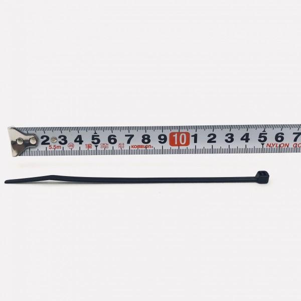 耐候性 結束バンド ケーブルタイ 黒色 100本入 15cm長さ 3.6mm幅 ナイロン66 UL離燃グレード 94V-2 ロックタイ 送料無料