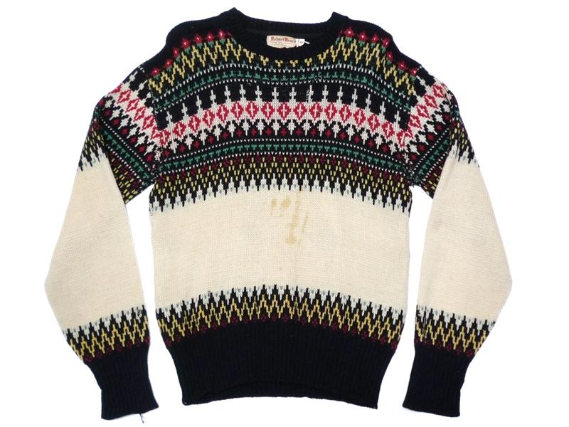 50's Robert Bruce セーター