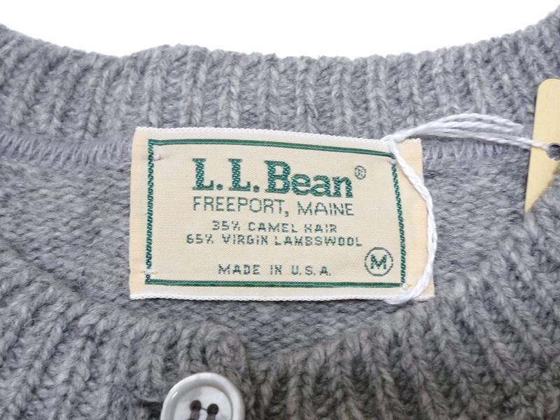 80's L.L.Bean カーディガン