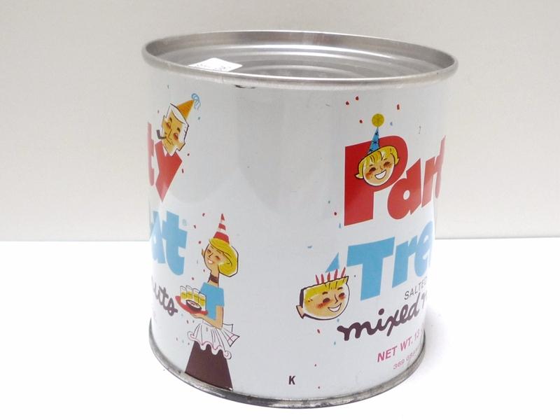60〜70's Party Treat ナッツ缶