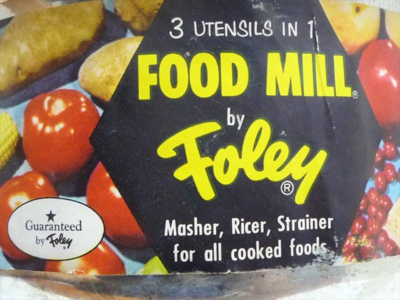 60's Foley フードミル デッドストック
