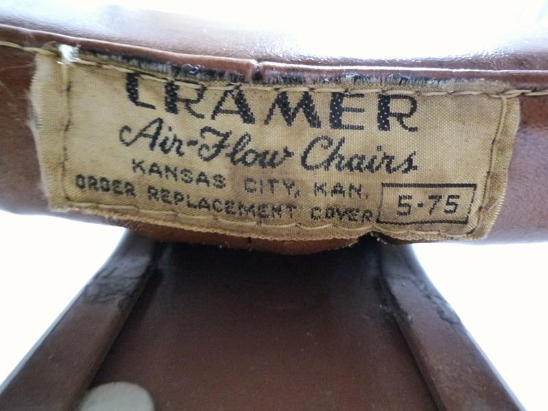60's CRAMER Air Flow イス