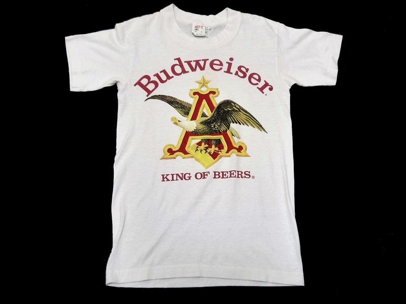 80's Budweiser Tシャツ