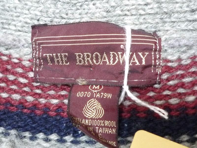 60's THE BROADWAY カーディガン
