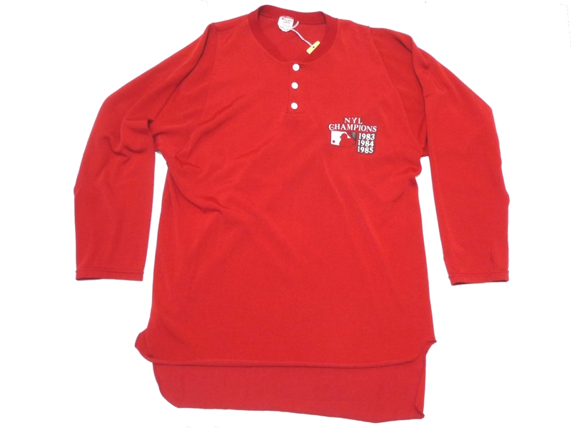 80's チャンピオン ナイロン長袖シャツ