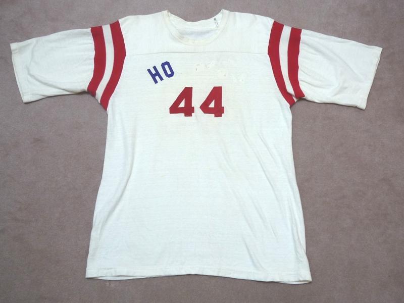 60's wilson フットボールT 両面ナンバリング