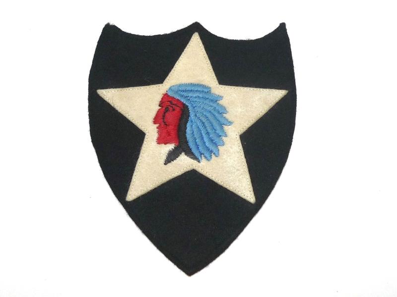 30's U.S.Army 第2歩兵師団 ショルダーパッチ