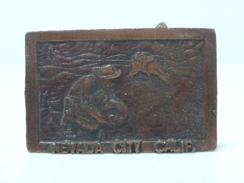 NEVADA CITY バックル