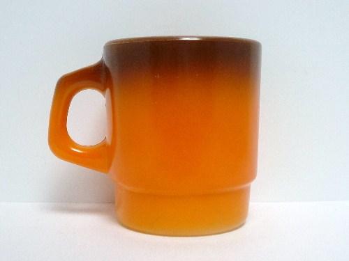 スタッキング 茶・橙