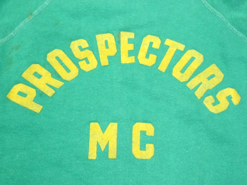 60's PROSPECTORS MC スウェットシャツ