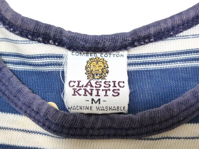 80's CLASSIC KNITS タンクトップ