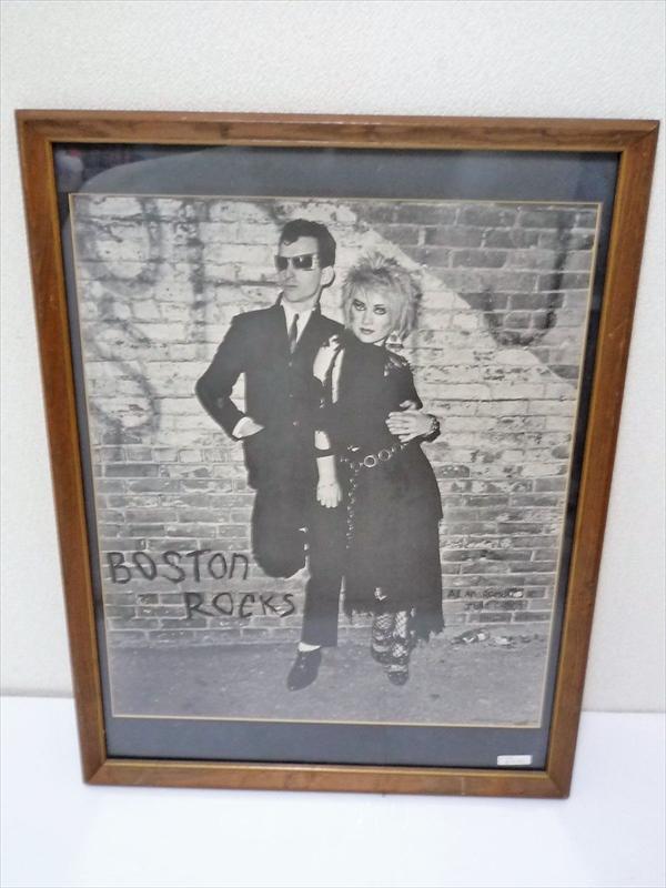 1980年 BOSTON ROCK ポスター 額入り