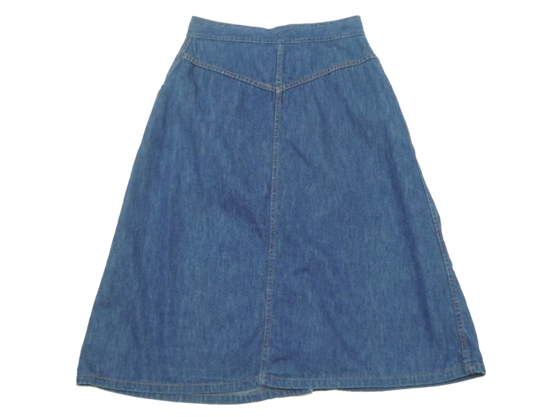 70's デニムスカート