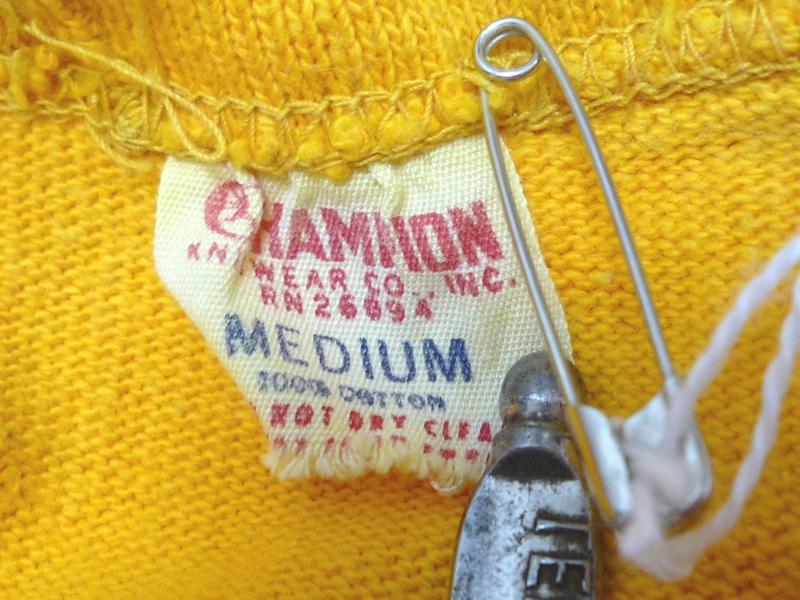 60's CHAMPION ショートパンツ