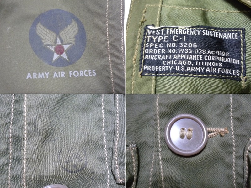 40's US AIR FORCE C-1 ベスト