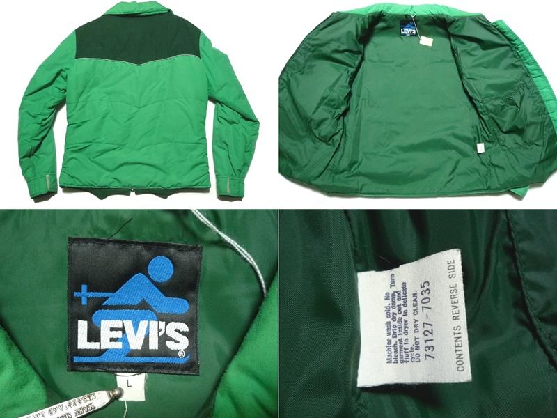 70's Levi's 切替スキージャケット