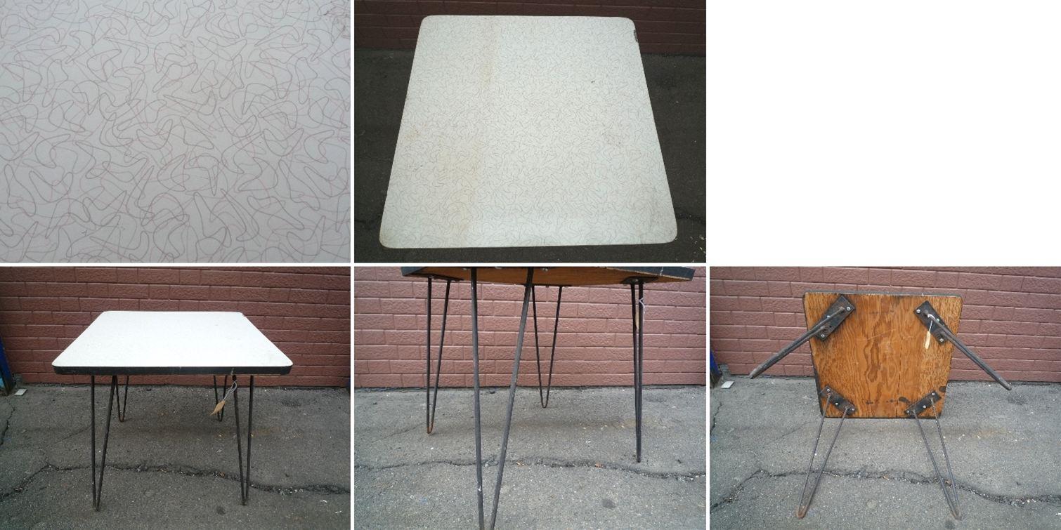 50's アメーバ テーブル